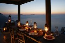 Al fresco sunset dining